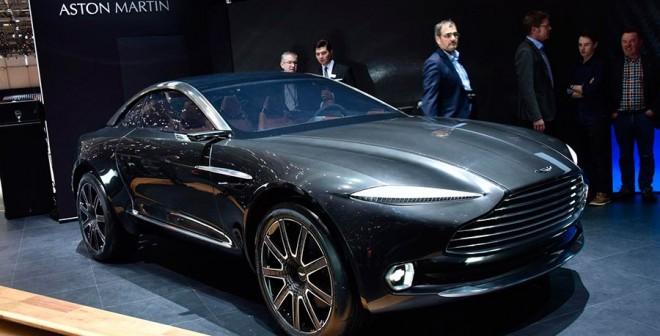 Aston Martin DBX Concept Salón Ginebra 2015