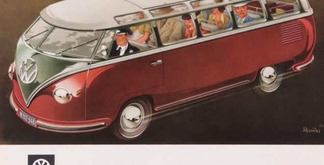 Bernd Reuters publicidad VW Combi