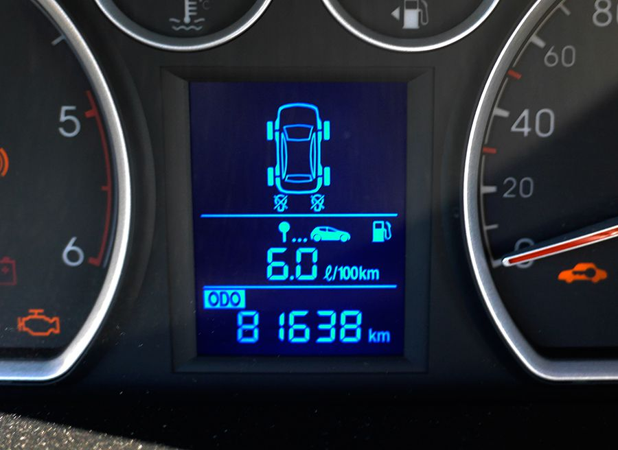 Como funciona el TPMS sistema control presión neumáticos