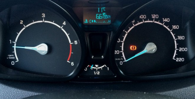 El Ford EcoSport con motor diésel firmó un consumo de 6,6 l/100 km durante la semana que convivió con nosotros.