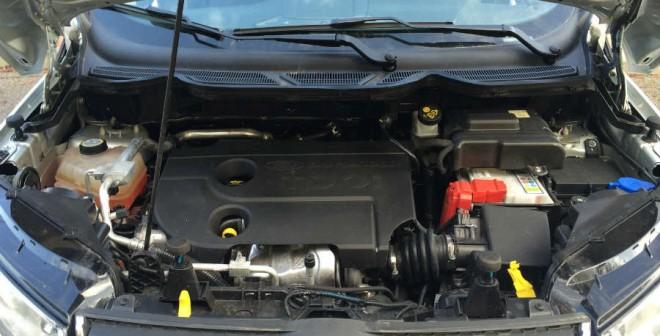 El Ford EcoSport que hemos probado contaba con el motor 1.5 TDCi de 90 CV.