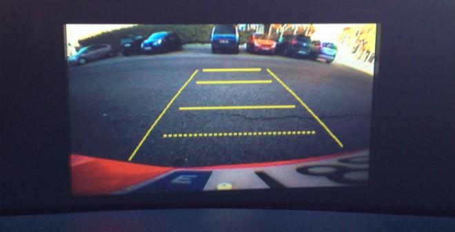 La cámara de visión trasera es una de las opciones de equipamiento del Honda Civic.