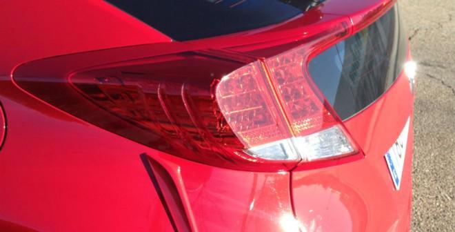 El diseño de las ópticas traseras del Honda Civic es uno de sus mayores rasgos de identidad.