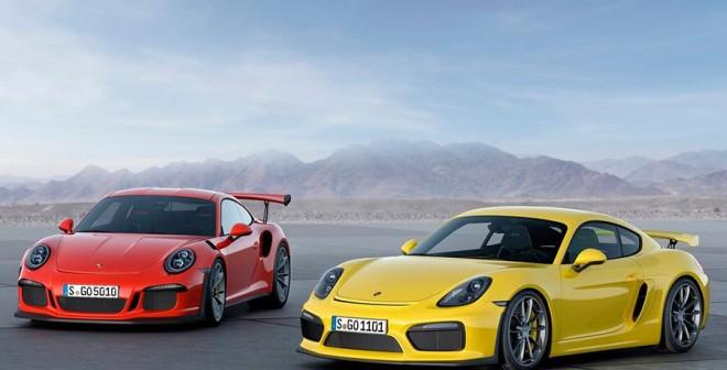 Nuevos Porsche 911 GT3 RS y Cayman GT