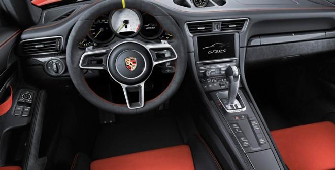 Interior del 911 GT3 RS
