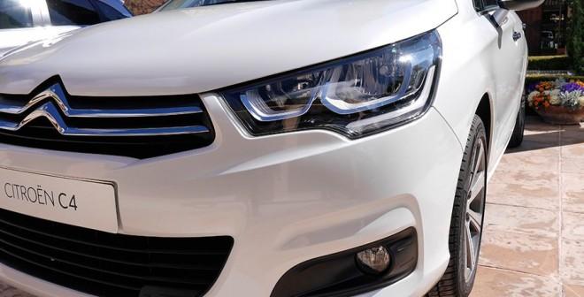Presentación y prueba Citroën C4 2015, Jarama, Rubén Fidalgo