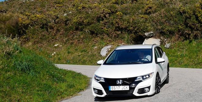 Prueba Honda Civic Tourer 1.6 i-DTEC 120 CV 2015, Baiona, Rubén Fidalgo