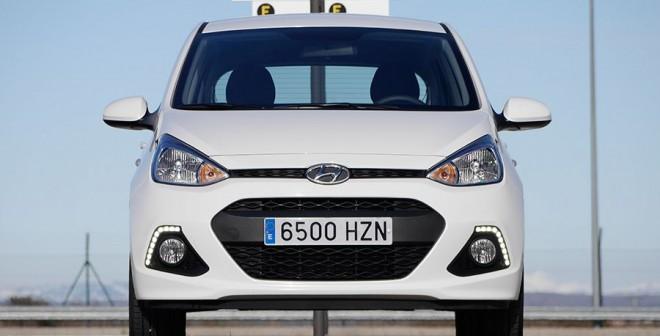 Prueba Hyundai i10 1.2 2014, Virgen del Camino, Rubén Fidalgo