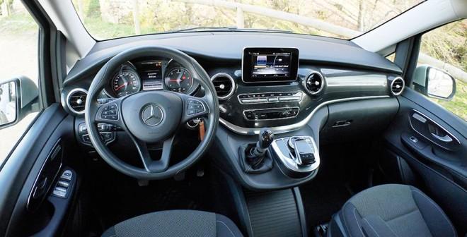 Prueba Mercedes V 220 CDi 163 CV manual 2014, interior, Rubén Fidalgo
