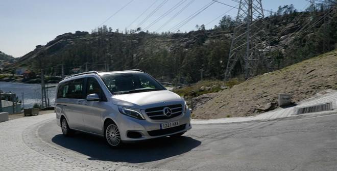 Prueba Mercedes V 220 CDi 163 CV manual 2014, Ézaro, Rubén Fidalgo