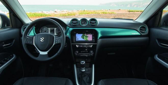 El interior del Suzuki Vitara combina a la perfección diseño y funcionalidad.