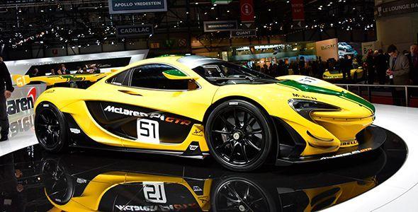 El McLaren P1 GTR y el 675 LT en el Salón de Ginebra 2015