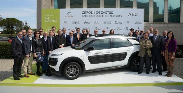 Citroën C4 Cactus, elegido 'El mejor coche del año 2015 ABC'