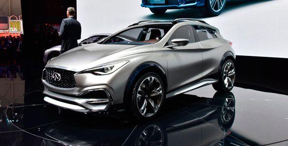 Infiniti QX30 Concept, futuro SUV compacto de la marca