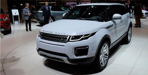 Todas las fotos del nuevo Range Rover Evoque 2016