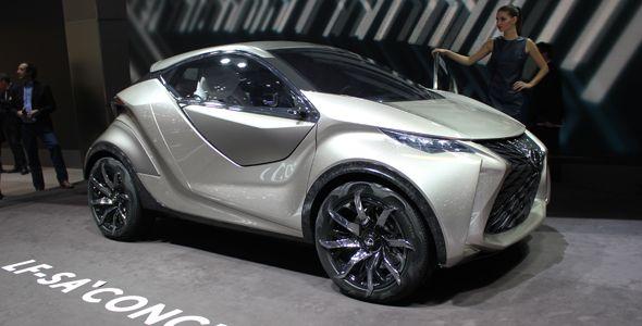 Lexus LF-SA Concept, lujo y tecnología en Ginebra 2015