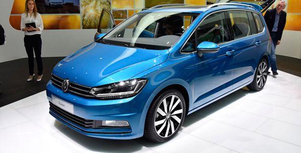 Nuevo Volkswagen Touran 2015, primeros detalles