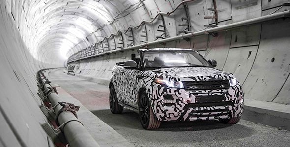 El Range Rover Evoque descapotable se fabricará en serie