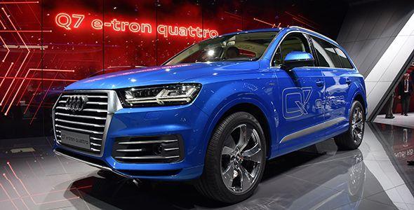 El Audi Q7 e-Tron Quattro novedad en el Salón de Ginebra 2015