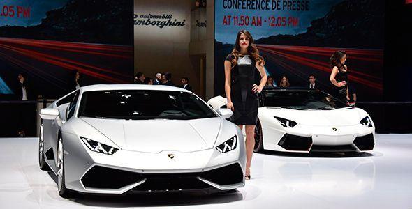 El espectacular Lamborghini Aventador SV en el Salón de Ginebra 2015