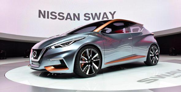 Todas las fotos del nuevo Nissan Sway en Ginebra 2015