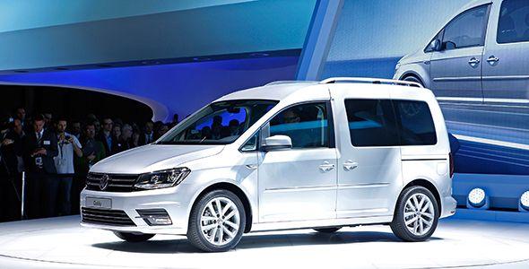 Se presenta en Ginebra el Volkswagen Caddy Maxi 2015