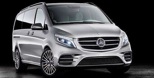 Mercedes Concept V-ision e, el Clase V híbrido enchufable