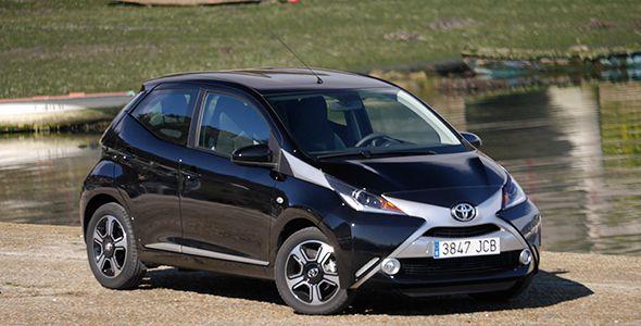 La prueba: Toyota Aygo 5 puertas 2015