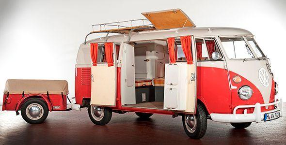 65 años de curiosidades del Volkswagen Combi, la furgo VW