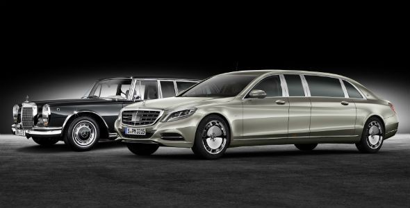 Mercedes-Maybach Pullman, ¡cuesta 500.000 euros!