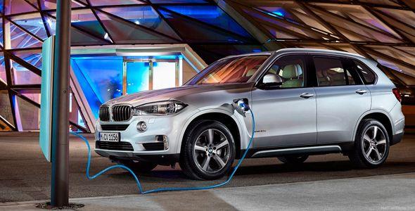 Nuevo BMW X5 xDrive40e, el primer híbrido enchufable de BMW