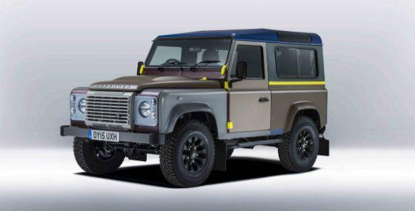 Land Rover Defender, edición Paul Smith