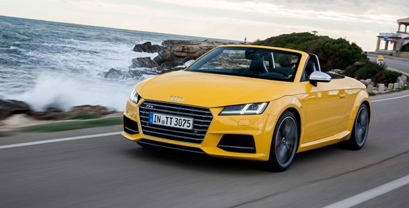 Audi TTS Roadster, disponible a partir de 62.580 euros
