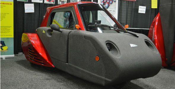 Spira4u, el coche de espuma