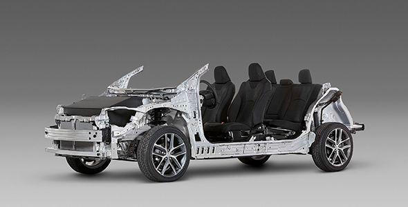 Nueva plataforma modular de Toyota TNGA