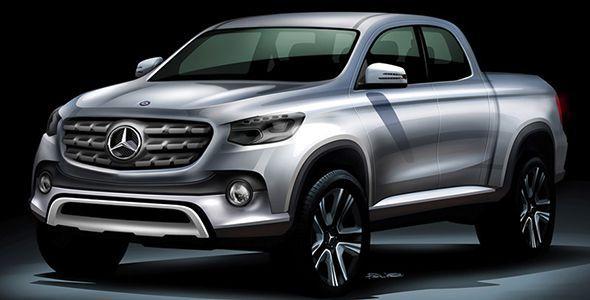 Habrá un nuevo Mercedes Pick Up