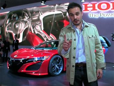 Vídeo:Honda NSX, debut europeo