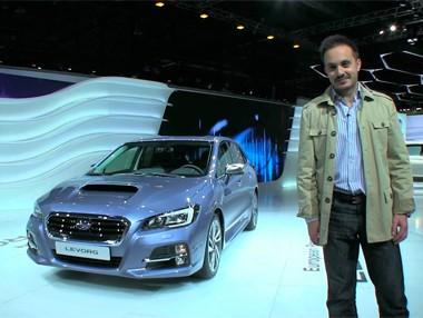 Vídeo: Subaru Levorg, en el Salón de Ginebra 2015