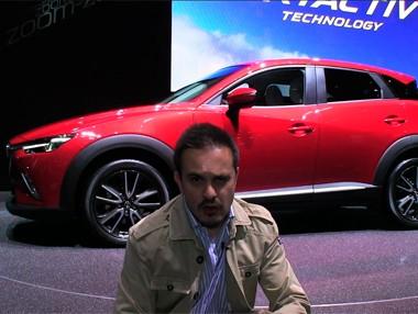 Vídeo: el nuevo Mazda CX-3 se presenta en Ginebra 2015
