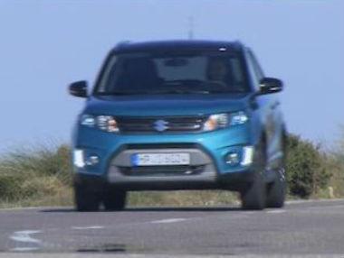El nuevo Suzuki Vitara, en movimiento