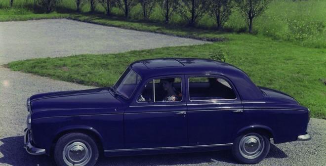 Cuádruple Aniversario Peugeot 403