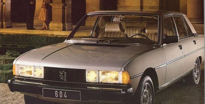 Cuádruple Aniversario Peugeot 604 STi