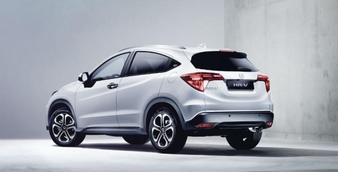 El diseño del Honda HR-V busca combinar deportividad con robustez.