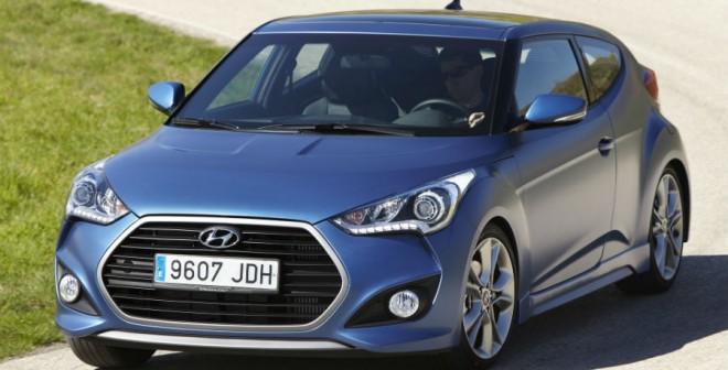 El diseño del Hyundai Veloster es algo totalmente fuera de lo común.