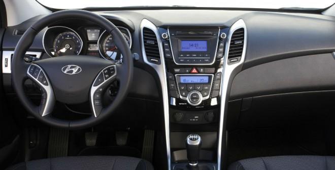 Hyundai da un paso adelante en todos los aspectos, interior incluido, con su nuevo i30.