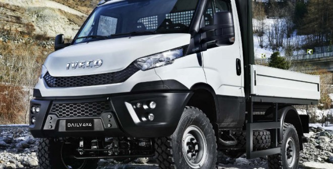 Iveco Daily 4x4, el camión que se puede enfrentar a todo.