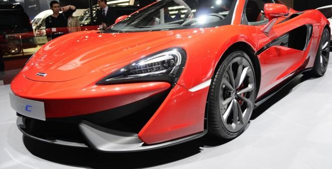 McLaren 540C.