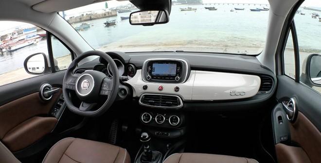 Prueba Fiat 500x 1.4 Multiair 140 CV 4x2, interior, Rubén Fidalgo