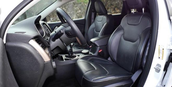 Prueba del Jeep Cherokee Limited 2.0 D 140 CV  2WD, interior, Rubén Fidalgo