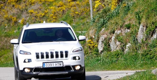 Prueba del Jeep Cherokee Limited 2.0 D 140 CV 2WD, Baiona, Rubén Fidalgo
